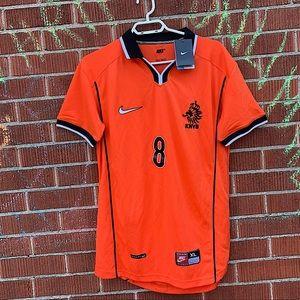 BNWT Nike Netherlands Bergkamp Jersey